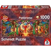 Puzzle Kingdom of the firebird, 1000 piese