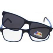 Vast Rectangular Sunglasses(Grey, Clear)