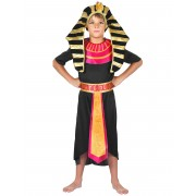 Vegaoo Egyptens beskyddare - Maskeradkläder för barn till kalaset 110 - 120 cm S (4 - 6 år)