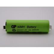 GP220AAH acumulator industrial R6 AA 1.2V 2200mAh Ni-Mh lamele pentru lipire