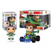 buzz ligthyear exclusive y woody with rc Funko pop toy story 4