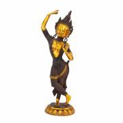 Mahadevi réz szobor, többszínű, 50cm - Bodhi