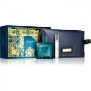 Versace Eros coffret X. Eau de Toilette 100 ml + Eau de Toilette 10 ml + bolsa de cosméticos