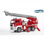 Bruder man tga autopompa vigili del fuoco con luci e suoni 2771
