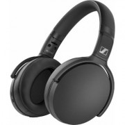 Sennheiser over-ear wireless headphones (black)