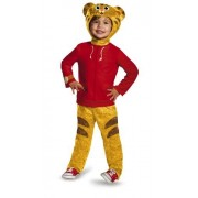 Disguise Daniel Tiger's Neighborhood Daniel Tiger Classic Toddler Costume, Large/4-6 by Disguise