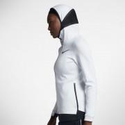 Nike Therma Flex Showtime Damen-Basketball-Hoodie mit durchgehendem Reißverschluss - Weiß