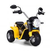 Costway Moto Electrique pour Enfants 20W à partir de 3 à 8 Ans Moto Véhicule 6V Charge max. 20KG Jaune