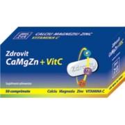Zdrovit Calciu +Magneziu+Zinc+Vitamina C