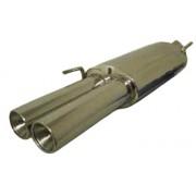 POT ECHAPPEMENT INOX POUR GOL3 3 2*76mm (10681)