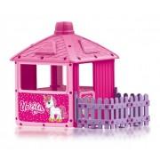 Dolu City House - Kućica za decu sa ogradom - Unicorn ( 025111 )