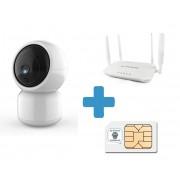 Pack videovigilancia sin ADSL (con tarjeta SIM)