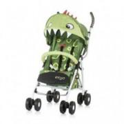 CHIPOLINO Kišobran kolica za bebe ERGO 6+ green baby dragon 710103