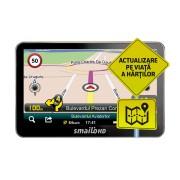 Sistem Navigatie GPS Auto Smailo HD 5.0 LMU Harta Full Europa