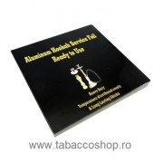 Folii aluminiu pentru carbuni narghilea HQ 100buc