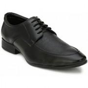 El Paso Men's Stylish Black Synthetic Leather Stylish Formal Lace Up Shoes