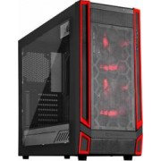 Carcasa Gaming Silverstone SST-RL05BR-W Red Line Midi Tower ATX Black