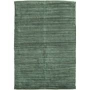 RugVista Alfombra Kilim Chenilla - Verde hierba 160x230 Alfombra Moderna