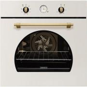 Cuptor incorporabil electric Zanussi ZOB33701MR, retro, alb galbui, Acqua Cleaning
