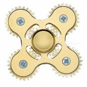 Dayspirit 4-Engranaje en forma de alivio del estres Rotor giro del dedo - de oro