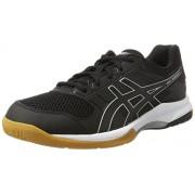 ASICS Men's Gel-Rocket 8 Black/Black/White Indoor Multisport Court Shoes - 12 UK/India (48 EU)(13 US)