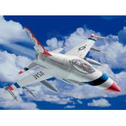 F-16 Fighting Falcon 1/100 Scale Snap Fit Plastic Model Kit Model Kit by Revell