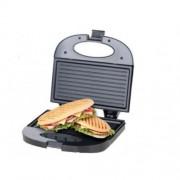 Сандвич мейкър Elite ESM-1135WR, 800 W, Незалепващо покритие, За 2 сандвича, Бял