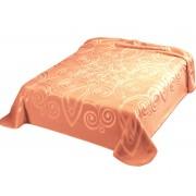 Pătură de pat double Belpla Ster 516 Somon