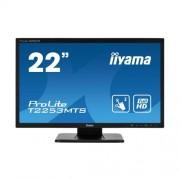 """Сензорен LCD монитор iiyama ProLite T2253MTS-B1, 21.5 """", черен"""