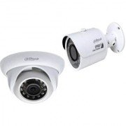 DAHUA HDCVI 1MP. IR 1DomeCamera- HAC-HDW1100SP+1 Bullet Camera HAC-HFW1100SP