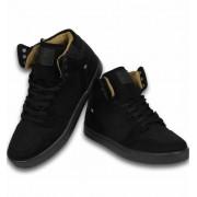 Cash Money Heren Schoenen - Heren Sneaker High - Riff Black