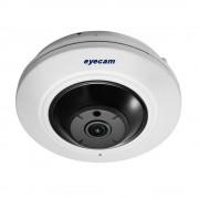 Camera IP Fisheye 4MP Audio Bidirectional Slot Micro-SD Eyecam EC-1337