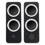 SPEAKER, Logitech Z200, 2.0, 10W, Midnight Black (980-000810)