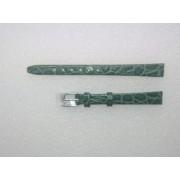 10-es zöld színű valódi bőr óraszíj A5005-10-7