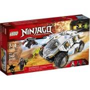 LEGO NINJAGO Titanium Ninja Tumbler, 342-piece set