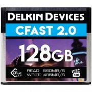 Delkin 128GB VPG-130 Cinema CFast 2.0 560MB/s