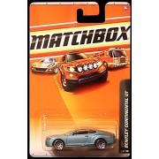 Matchbox 2010 Bentley Continental GT, VIP # 36/100 (Metallic Blue). 1:64 Scale.