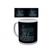 Gb Eye Caneca Fantastic Beasts I Want to be a Wizard