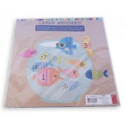 Horizon Felt Learning Activity For Pre-K - Fish Bowl Fun Counting Numbers 1-10