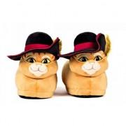 Geen Volwassenen Gelaarsde kat sloffen / pantoffels