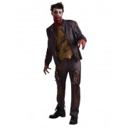 Vegaoo Hungrig på hjärnor - Zombiedräkt för vuxna till Halloween