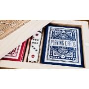 Carti de joc Blue Wheel