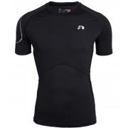 NEWLINE COMPRESSION Pánské kompresní tričko 11796-060 černá XL