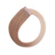 Rapunzel® Extensions Naturali Quick & Easy Original Liscio O7.3/10.8 Cendre Ash Blond Ombre 40 cm