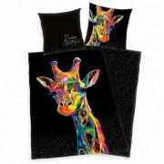 Zsiráf művészi ágyneműhuzat