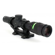 Trijicon TR24G AccuPoint 1-4x24 Riflescope (BAC, Green Triangle Post Reticle, 30mm Tube)
