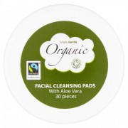Simply Gentle Organic Make up Removal Pads 30 pads