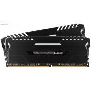 Corsair VenGeance 32Gb(16Gbx2) DDR4-3200 (PC4-25600) CL16 1.35v Desktop Memory Module with (White led) black heatsink
