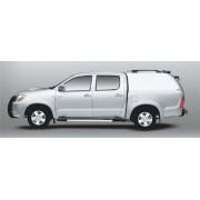 HARD TOP CARRYBOY TOYOTA VIGO 2005 DOUBLE CAB SANS VITRES LATERALES - acces...