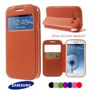 Samsung Galaxy Grand/Neo I9060/I9082 Window Wallet Калъф + Проте